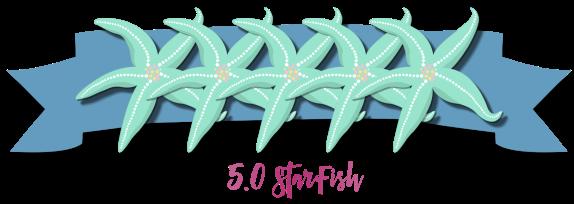 5 starfish
