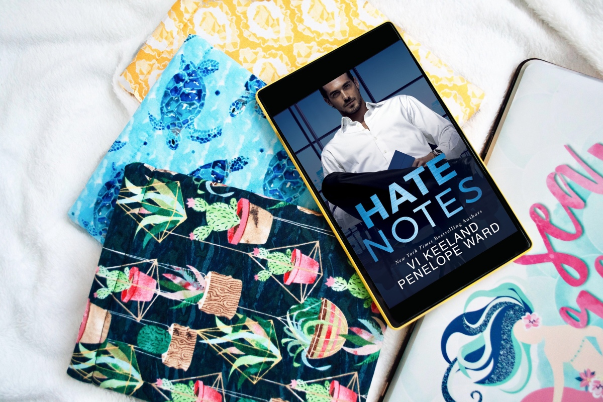 Cover Reveal: Hate Notes by Vi Keeland& Penelope Ward