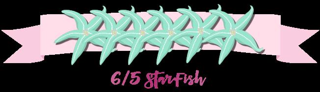 6 starfish